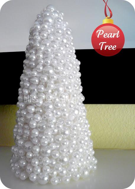 Pearl Christmas Tree