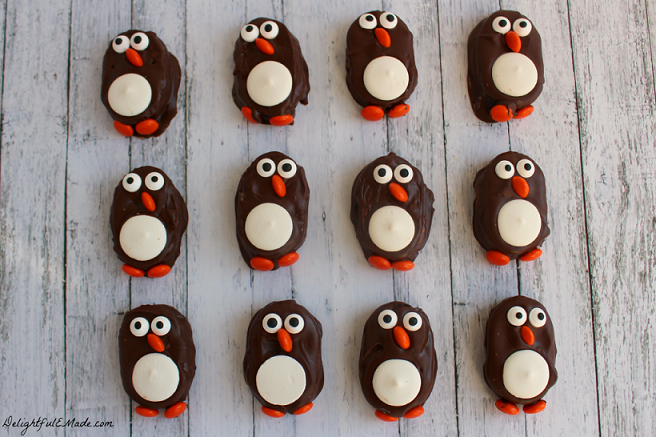 Penguin Cookies