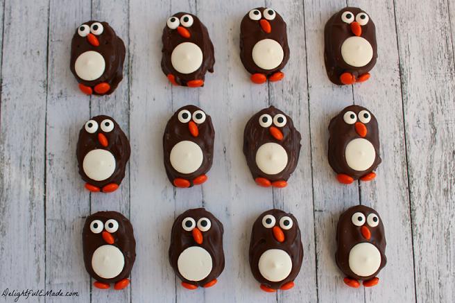 Penguin Cookies