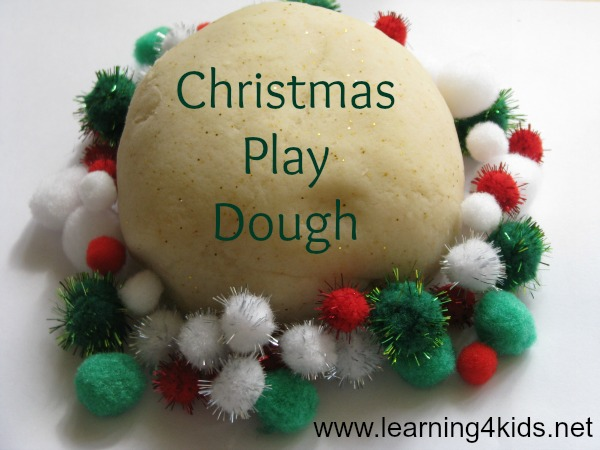 Playdough Christmas Games