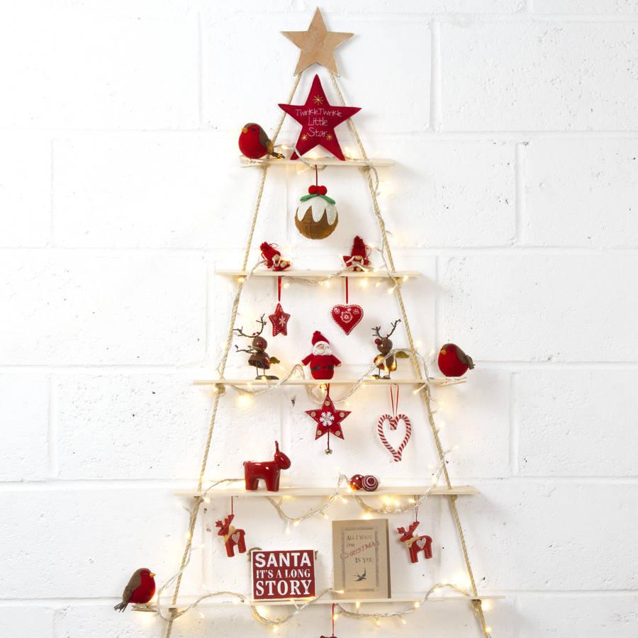 Rope Ladder Christmas Tree