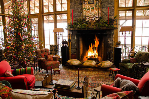 Rustic Christmas Décor Ideas For Living Room