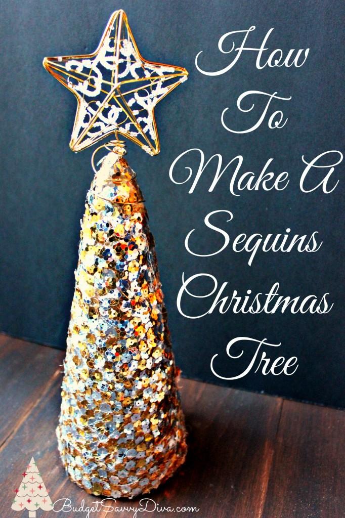 Sequins Christmas Tree