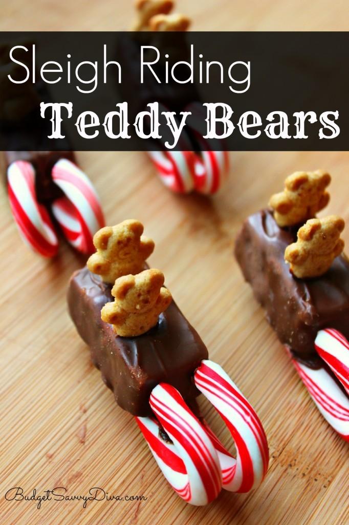 Sleigh Riding Teddy Bears