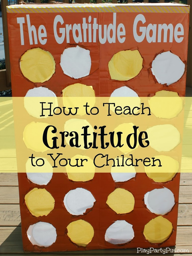 The Gratitude Game For Christmas