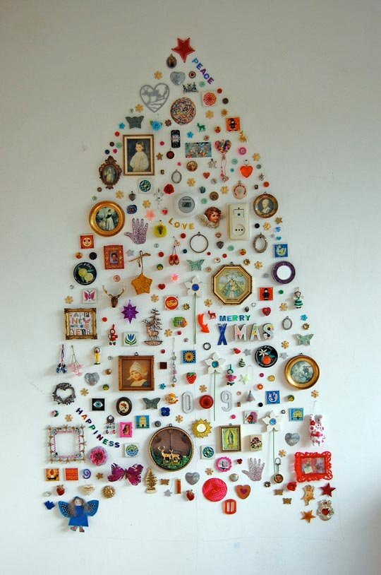 Wall Collection Christmas Tree