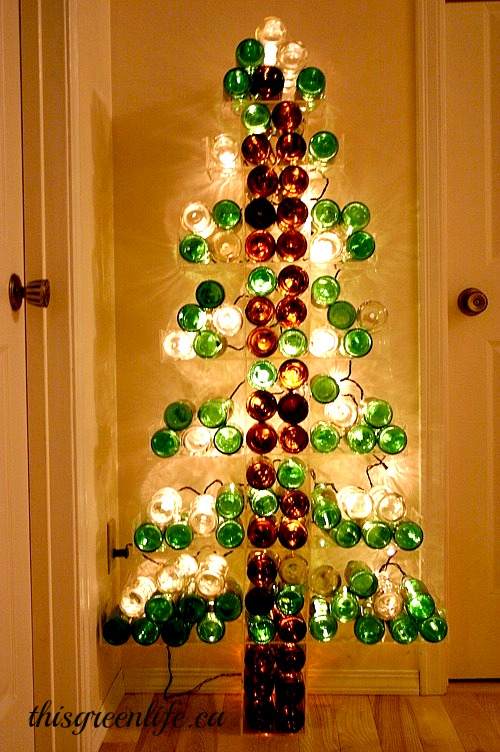 Wine Bootle Christmas Tree